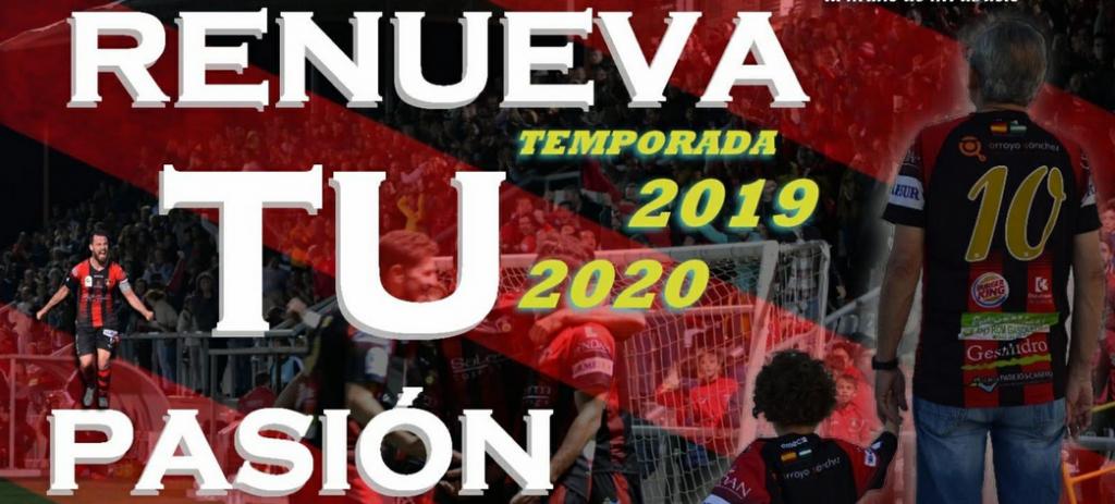 Campaña de abonos para la segunda mitad de la Temporada 2019/2020